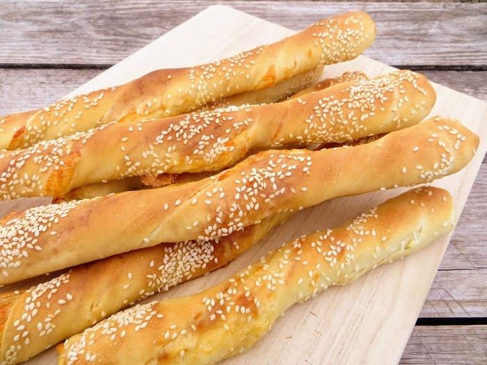 Хлебные палочки с сыром и чесноком Еда, Вкусно, Готовка, Хлебные палочки, Рецепт, Длиннопост, Другая кухня, Видео рецепт, Сыр, Видео