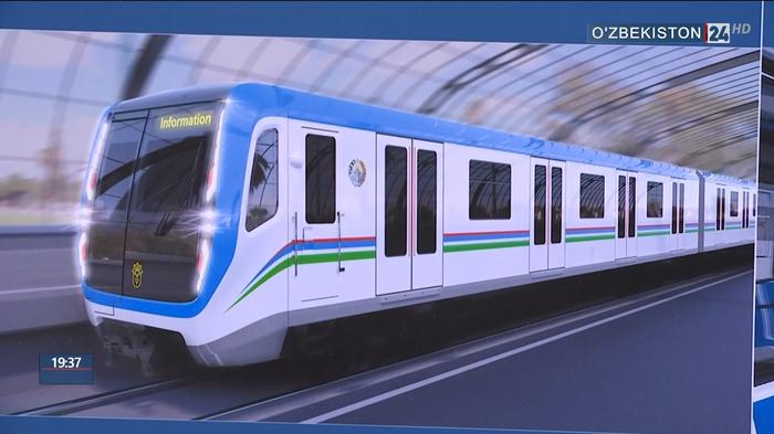 На кольцевой линии метро Ташкента будут использоваться вагоны серии«Москва» Ташкент, Метро, Вагон метро