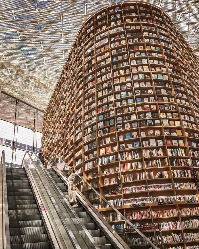 Библиотека в Сеуле