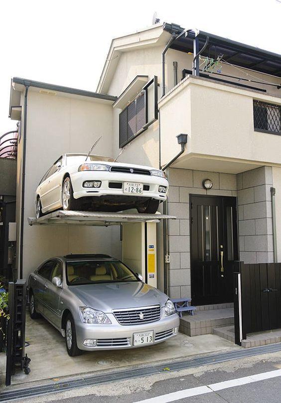Когда задолбался искать парковку Парковка, Неправильная парковка, Авто, Япония, Экономия места, Паркинг