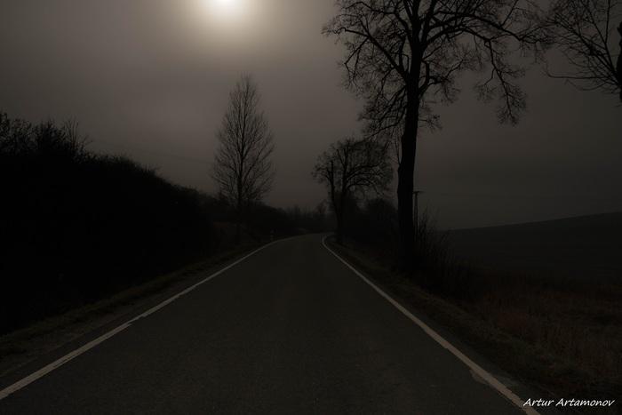 Ночной ноябрьский тлен.