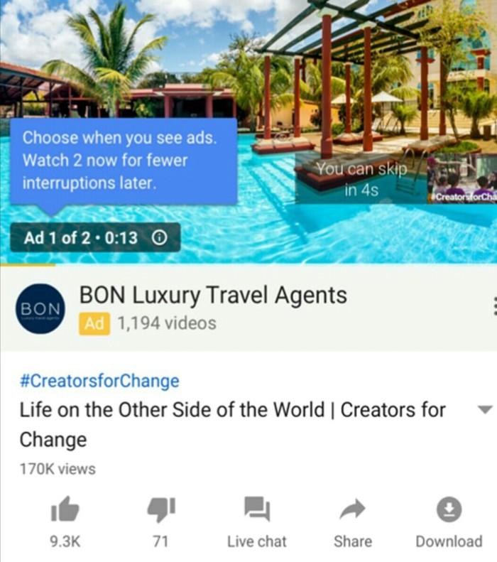 YouTube запускает новый формат показа рекламы Google, Youtube, Реклама, Длиннопост, Пикабу, Android, ПК, IOS