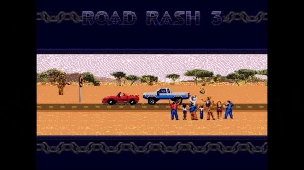 Создание Close call в играх: «На волосок от поражения» или «Чуть-чуть не победил» Road rash 3, Gamedev, Эмоции, Еле-Еле, Roguelike, Faster Than Light, Close call, Напряженная атмосфера, Гифка, Длиннопост