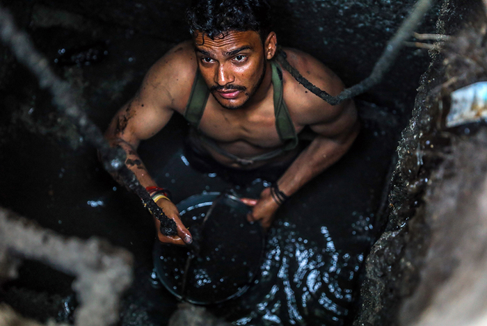 Запах нищеты Индия, Нищета, Длиннопост, Туалет, Канализация, Ассенизатор, Lentaru