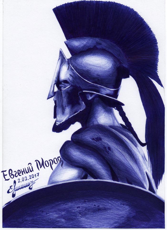 300 спартанцев - Царь Леонид