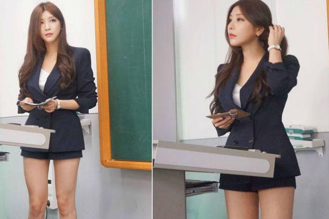 Пак Хень Сань - самый красивый лектор Южной Кореи Южная Корея, Красивая девушка, Вечные ценности, Фотография, Длиннопост