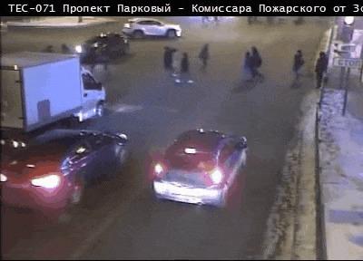 Прилетело #129 ДТП, Прилетело, Пермь, Гифка, Видео