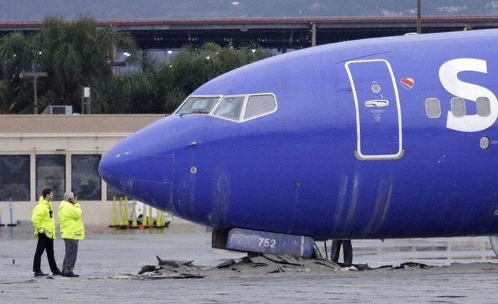 Подушки EMAS спасли жизни пассажиров Авиация, Безопасность, Происшествие, Гражданская авиация, Видео, Длиннопост