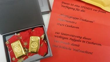 Немецкий Робин Гуд? Германия, Робин Гуд, Золото, Пожертвования, Рождество