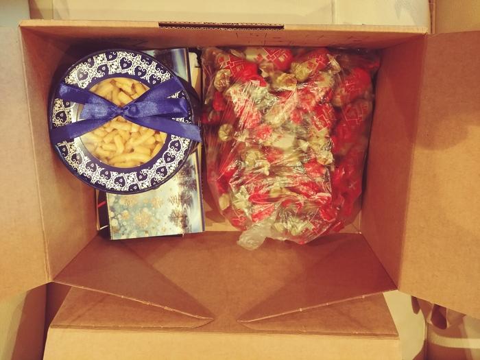 Подарок от снегурочки из Казани Новогодний обмен подарками, Снегурочка, Тайный Санта, Длиннопост, Отчет по обмену подарками