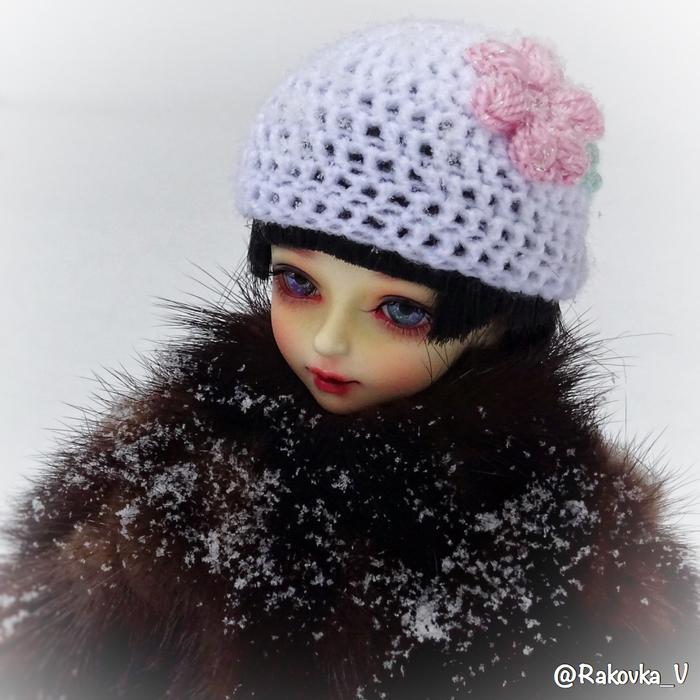 Снег! БЖД, Кукла, Шарнирная кукла, Милота, Снег, Зима, Длиннопост