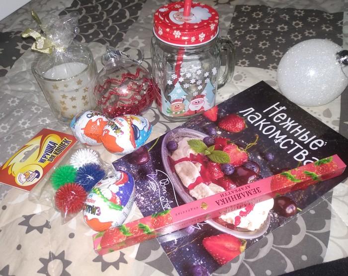 Спасибо Новогодний обмен подарками, Тайный Санта, Без рейтинга, Отчет по обмену подарками