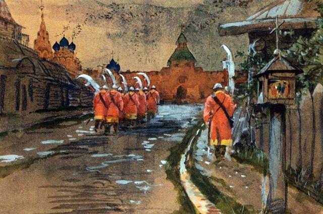 Великий Московский пожар 21 июня 1547 года. Москва, Иван Грозный, Великий Московский пожар, История, Длиннопост
