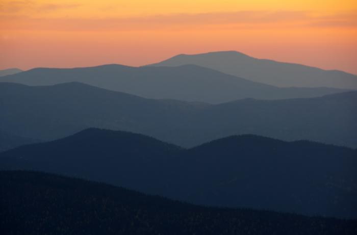 Мой финиш - горизонт Горы, Закат, Горизонт, Фотография