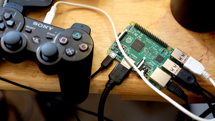 Игровая консоль по простому Dendy, Raspberry Pi 3, Самоделки, Длиннопост