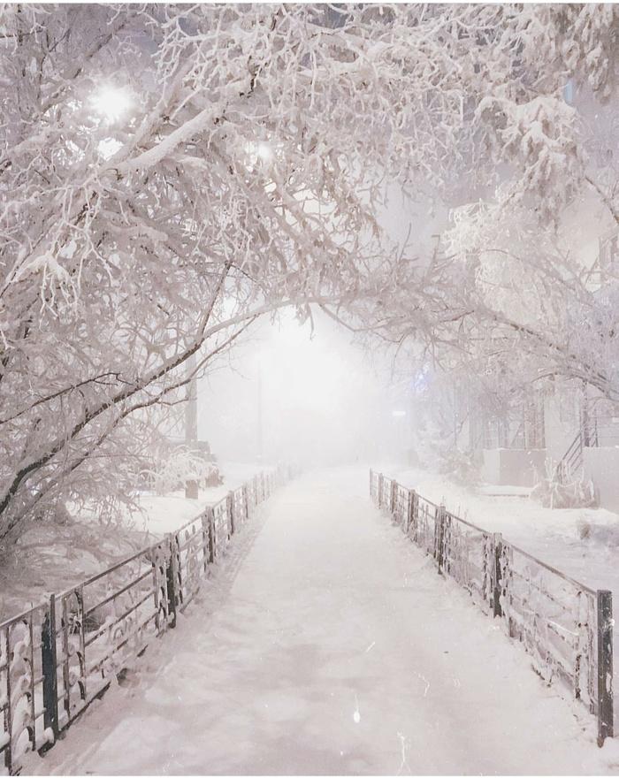 Якутск, -42°С Якутск, Холод, Зима, Красота, Фотография