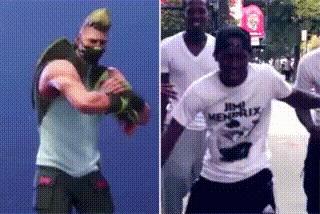 Рэпер 2 Milly подал в суд на Epic Games из-за танца в Fortnite. Fortnite, Суд, Рэпер, Танцы, Гифка, Reddit