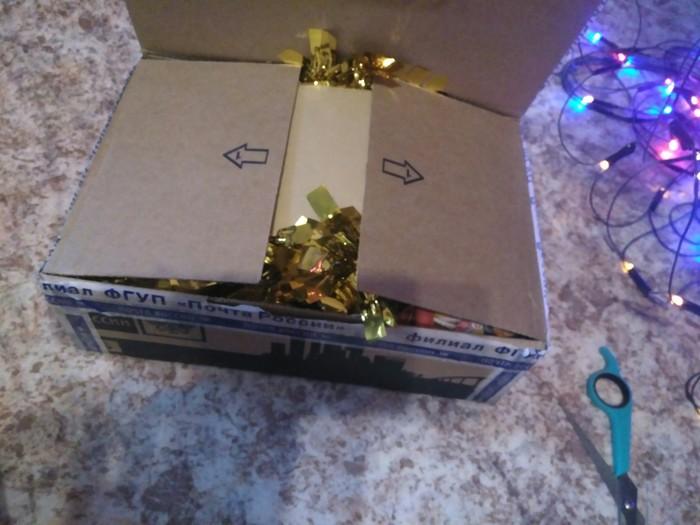 И неведомо откуда к нам приходит Новый Год! Обмен подарками, Новый Год, Длиннопост, Отчет по обмену подарками, Тайный Санта