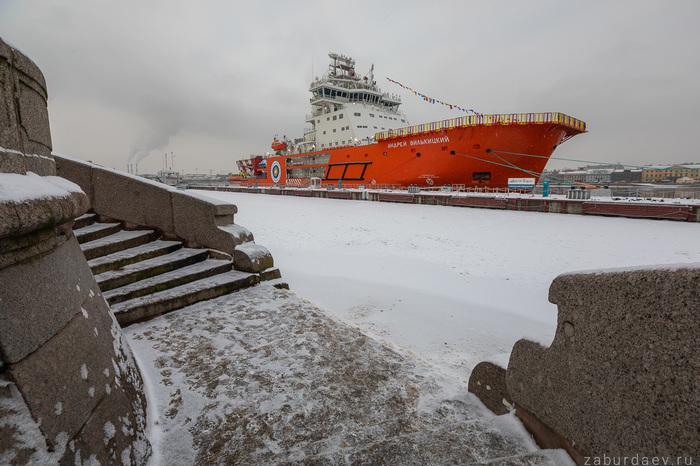 Экскурсия по ледоколу «Андрей Вилькицкий» Санкт-Петербург, Ледокол, Корабль, Фотография, Длиннопост