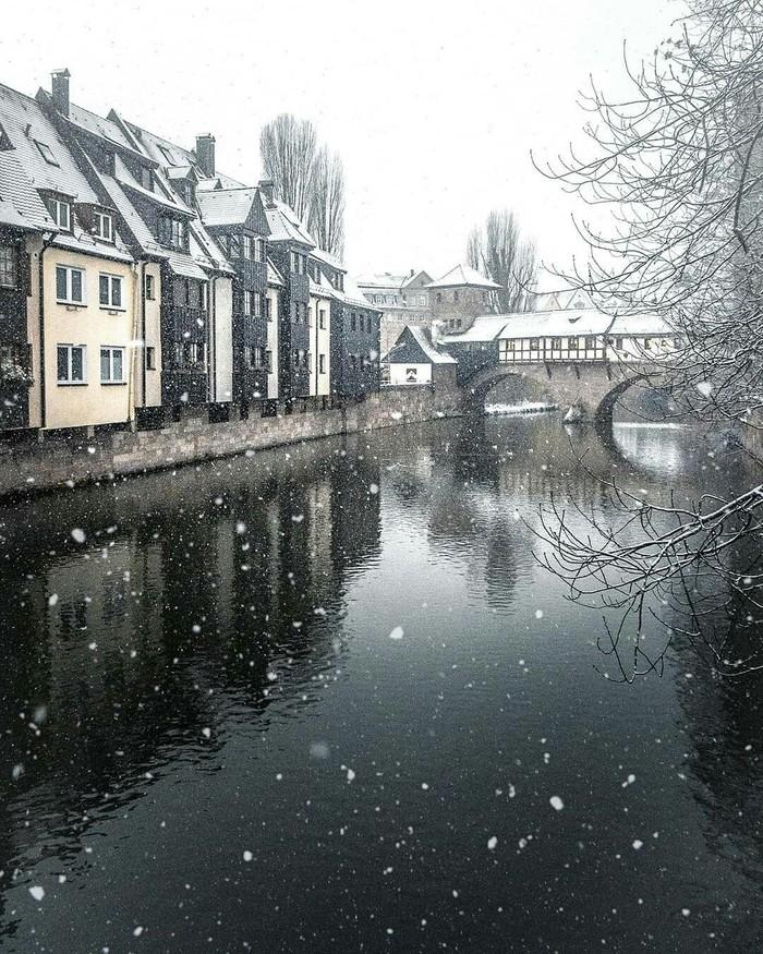 Зимний Нюрнберг, Германия