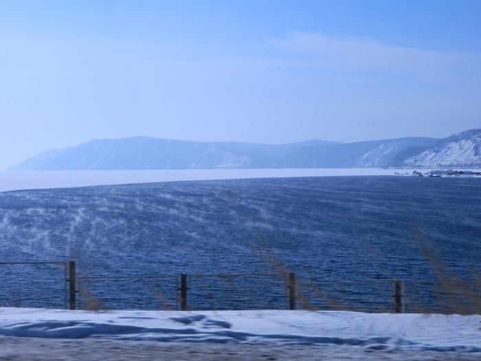 Байкал Зима, Байкал, Ангара, Фотография