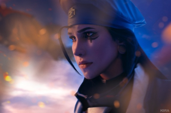 """We're All Soldiers Now"" Overwatch, Косплей, Ana Amari, Soldier 76, Длиннопост"