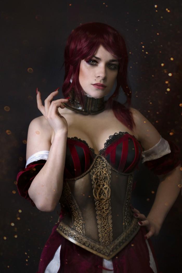 Sabrina Glevissig Cosplay Ведьмак, Ведьмак 2, Ложа чародеек, Lodge of sorceresses, Косплей, Девушки, Длиннопост, Сабрина глевиссиг