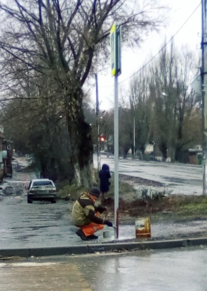 Второй день стояла непогода... ЖКХ, Коммунальщики, Раздолбайство, Дождь
