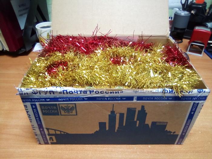Из Белгорода в Ярославль - коробочка радости Отчет по обмену подарками, Тайный Санта, Обмен подарками, Новогодний обмен подарками, Длиннопост
