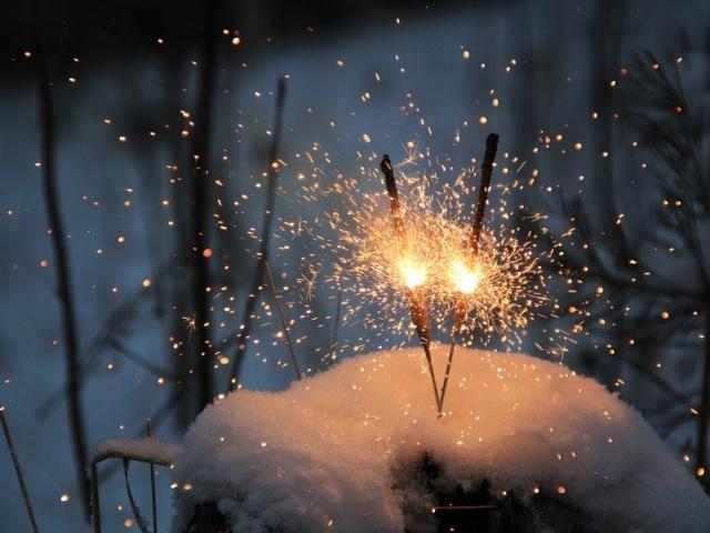 Омичи, привет! Приглашаю вас... Новый Год, Фейерверк, Омск