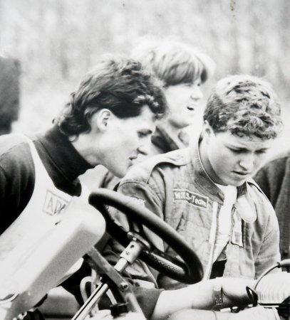 Михаэль Шумахер,гонщик картинговой серии. Михаэль Шумахер, Картинг, Формула 1, Фотография, Мика Хакинен