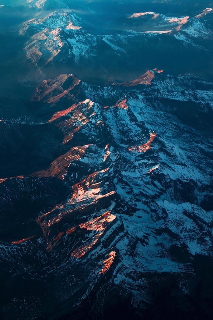 Пролетая над горами