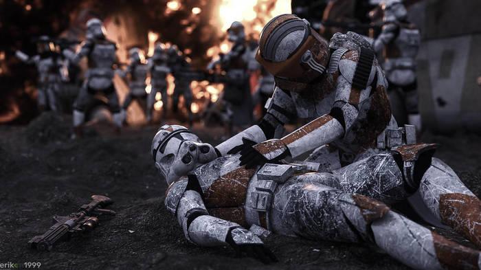 Подборка 3д артов под авторствомErik-M1999 Клоны, Star Wars, Звездные войны: Войны клонов, 3D, Арт, Рендер, Erik-M1999, Длиннопост