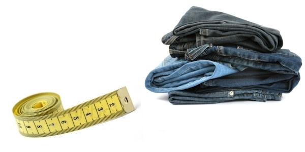 Размер джинсов: как определить свой - таблицы размеров Как правильно выбрать джинсы: силуэт, посадка, размеры Джинсы, Одежда, Мода, Совет, Покупатель, Длиннопост