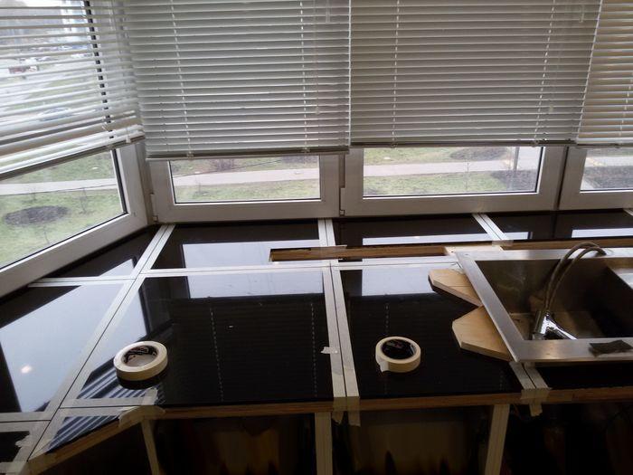 Столешница из камней и палок Мебель, Столешница, Своими руками, Строительство и ремонт, Длиннопост