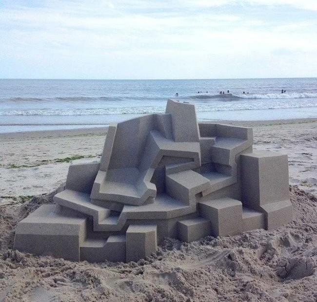 Песочный модернизм.