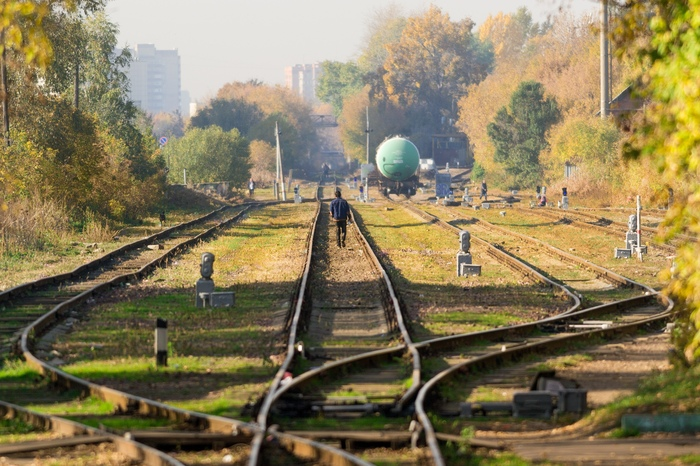 Выход из тупика Осень, Sogemoge, Фотография, Москва, Кузьминки, Железная Дорога