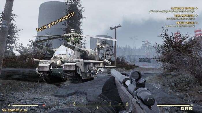 Игроки Fallout 76 организовали слишком подозрительное ополчение против глитчеров. Fallout, Fallout 76, Игры, Компьютерные игры