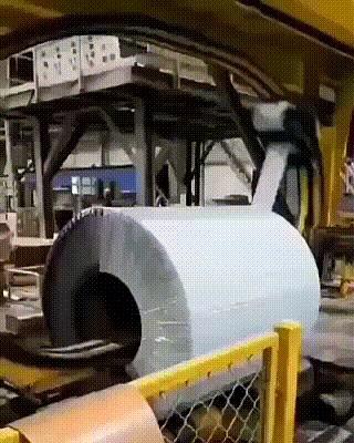 Машина для упаковки рулонной стали