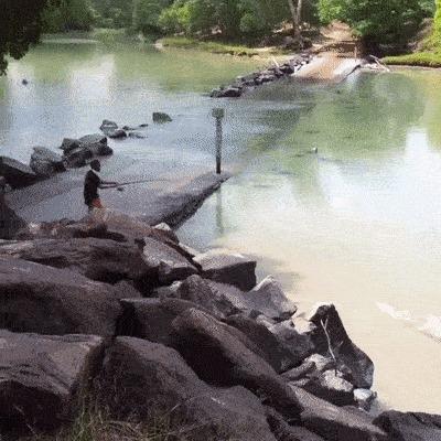 Рыбалка в Австралии - так себе затея...