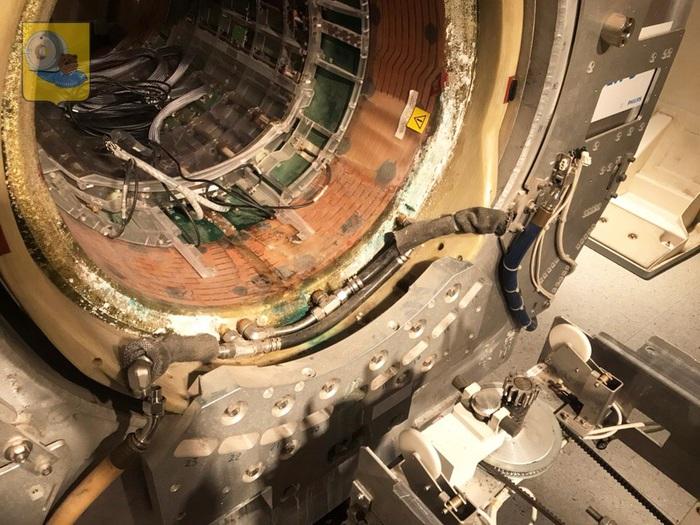 Замена градиентной катушки в томографе 1.0 Тесла. Вес 800 кг Рустомограф, Rustmograf, Mri, МРТ, Томограф, Philips, Видео, Длиннопост