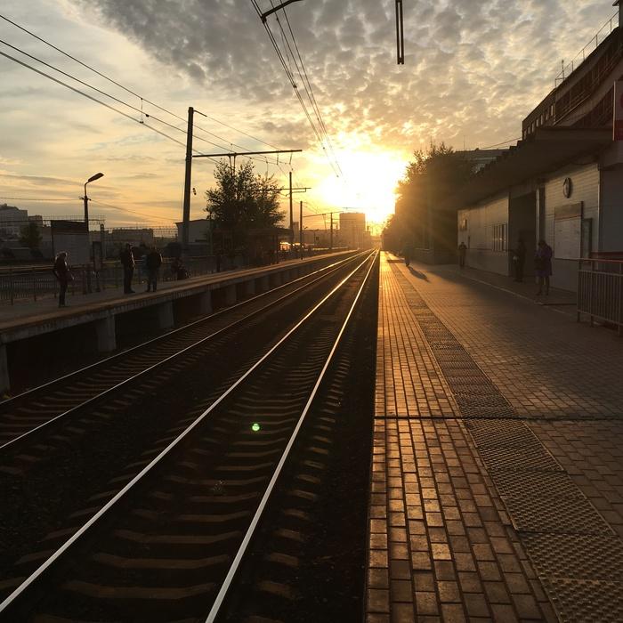 Частичку тепла вам в ленту, товарищи Красота, Жд вокзал