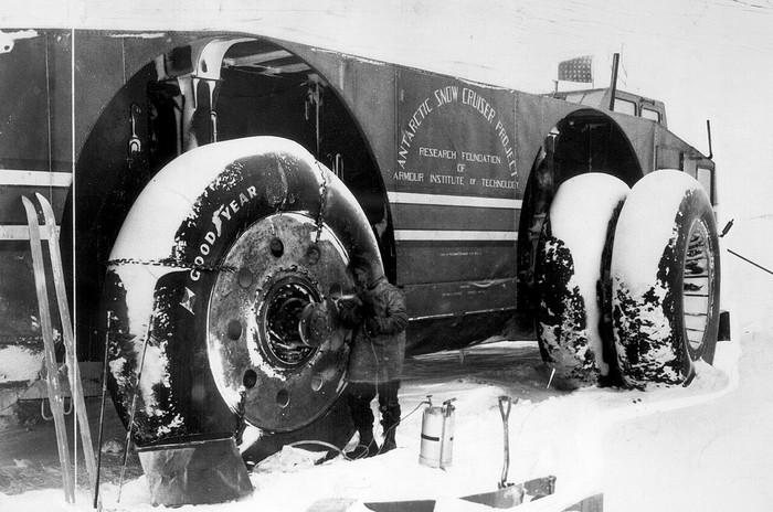 """Снежный крейсер"" Антарктида, Транспорт, США, Антарктика, Длиннопост"