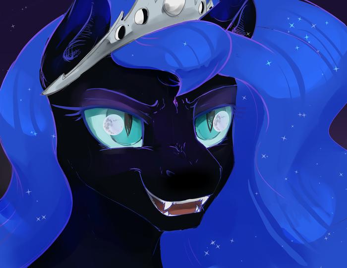 Nightmare Moon My Little Pony, Nightmare Moon, Луна, Silfoe