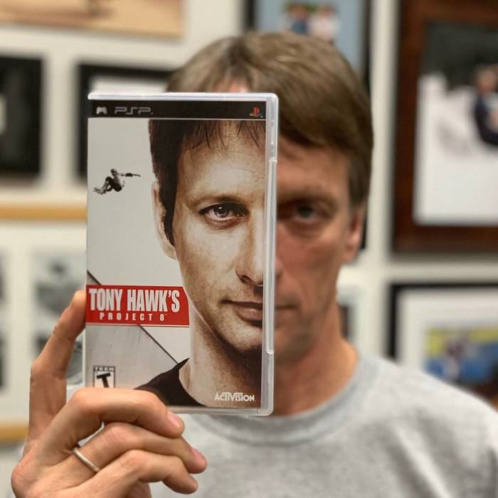 Tony Hawk's 10 year challenge