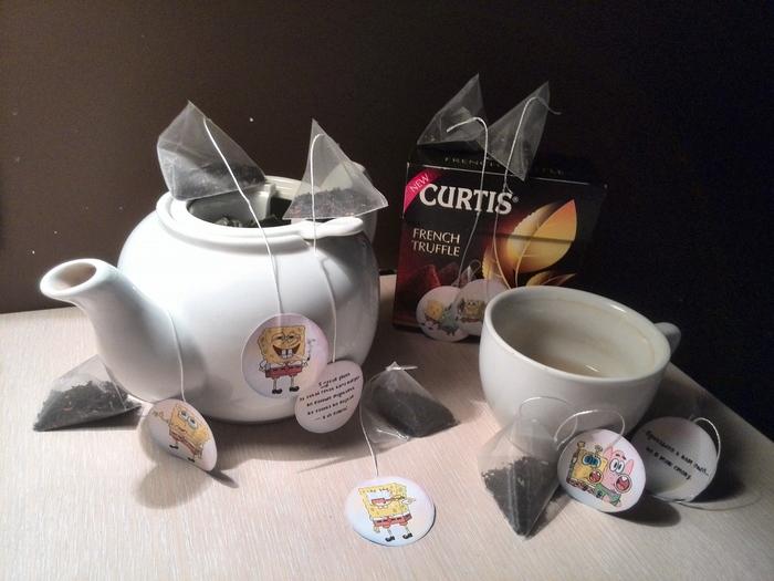 Долой скучные чайные этикетки!!! Рукоделие без процесса, Чай, Шоколад, Вкусняшки, Рукоделие, Творчество, Handmade, Длиннопост