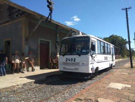 Никогда не думал,что рельсовый автобус может быть таким.) Железная Дорога, Рельсовый автобус, Куба, Новости, Автобус