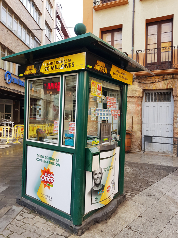Национальная организация слепых Испании, она же ONCE Испания, Инвалид, Жизнь за границей, Слепые, Длиннопост