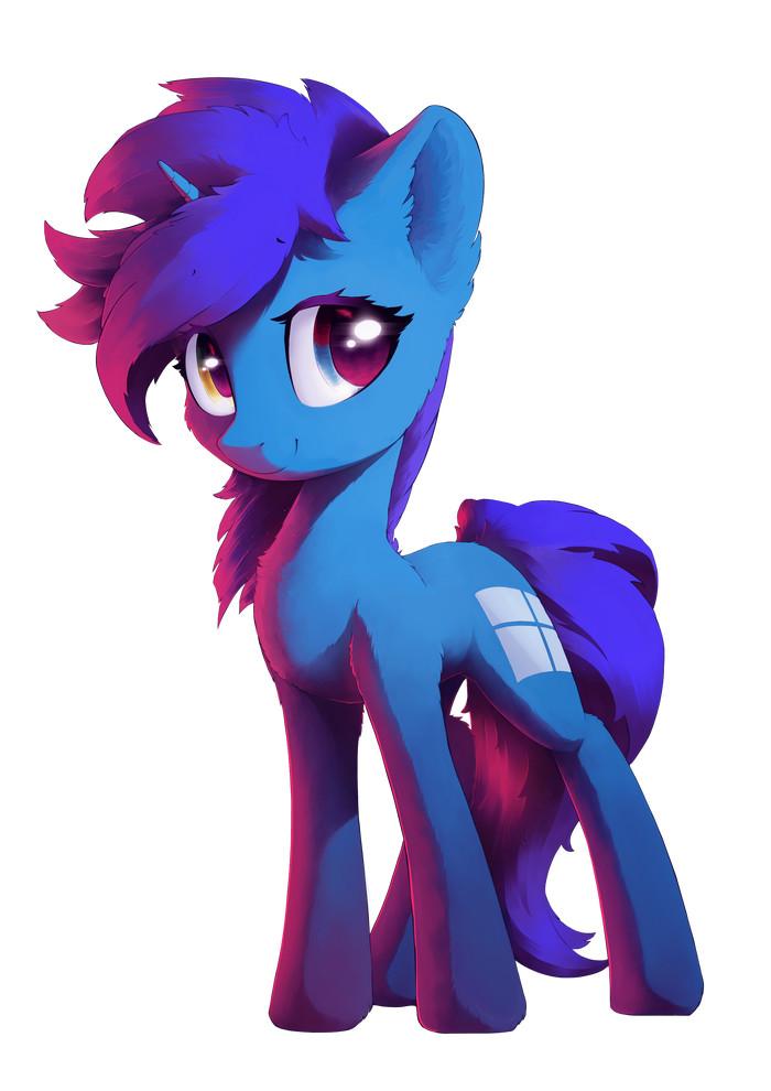 Windows 8 My Little Pony, Понификация, Windows 8, Freeedon, Арт, Ponyart