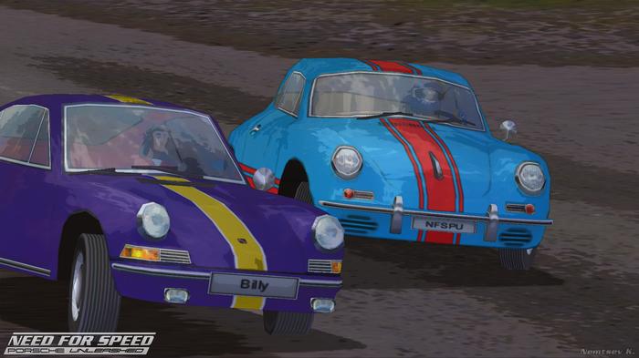 Need for Speed: Porsche Unleashed - скриншоты Need for Speed, Need for speed: porsche unleas, Porsche, Ностальгия, Игры, Гонки, Скриншот, Длиннопост